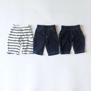 Baby Gap/Carter's Infant Pant Bundle 0-3 Months